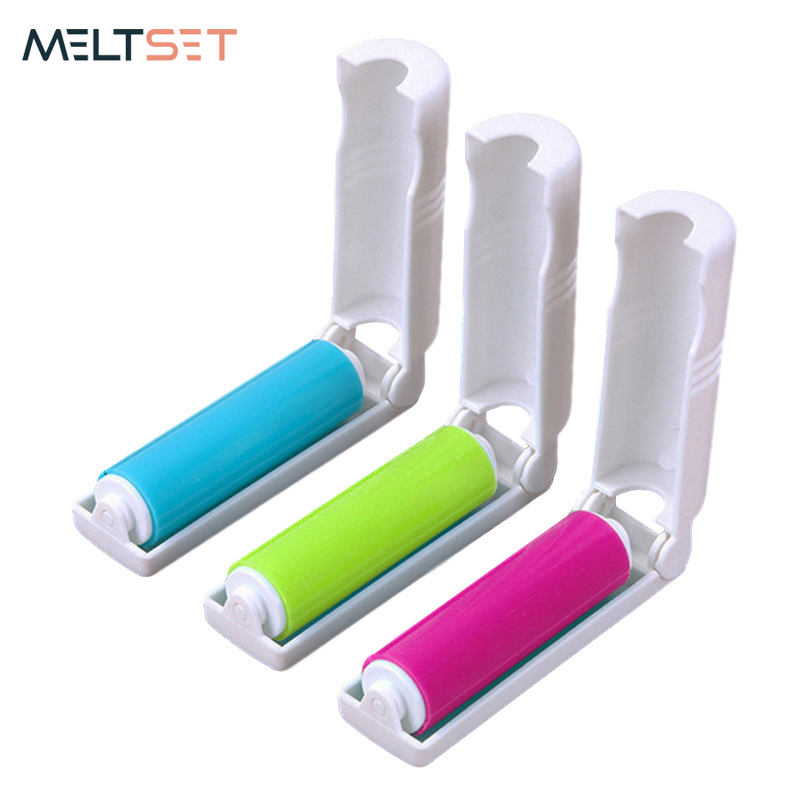 Reusable Washable Lint Roller Dust Cleaner Sticking Roller for Clothes Pet Hair Cleaning Household Dust Wiper Tools