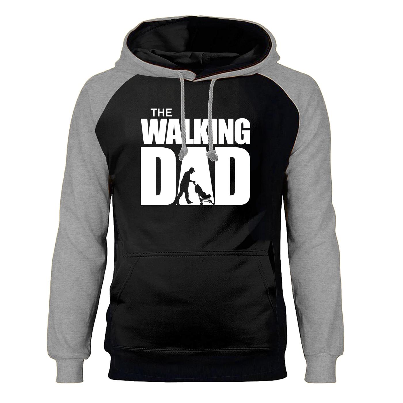 The Walking Dead Sweatshirts Hoodies Men Raglan Hooded Hoodie Sweatshirt 2019 Winter Autumn Fleece Warm Horror Sportswear Mens