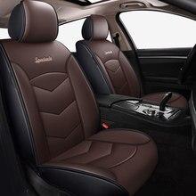 Alta qualidade couro tampas de assento do carro para renault megane 2 3 mestre cênica captur clio fluence kangoo acessórios