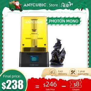 Image 5 - 2020 yeni ANYCUBIC Photon foton S/foton sıfır 3D yazıcı 405nm matris UV modülü SLA 3d yazıcı UV reçine yazıcı impresora 3d