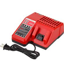 цена на Replace for M18 M14 Battery Charger For Milwaukee 14.4V-18V Multi Voltage Lithium 48-11-1850 48-11-1840 48-11-1815 48-11-1828