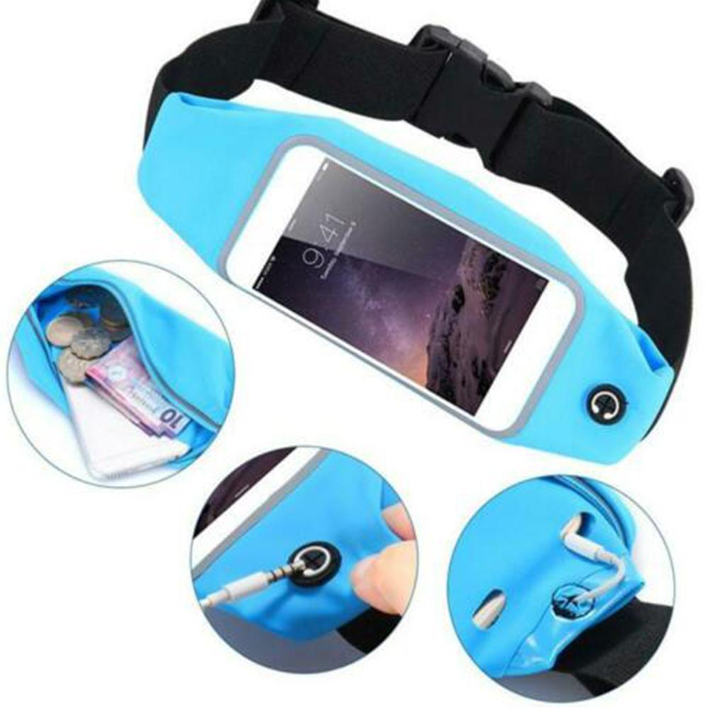 Sport Running Jogging Waist Belt Bag Case Cover For Mobile Cell Phone Holder U3V1