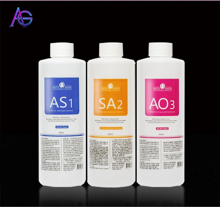ADG Solution For Hydrofacial RF BIO Ultrosonic Skin Care Small Bubble Massage Beauty Machine