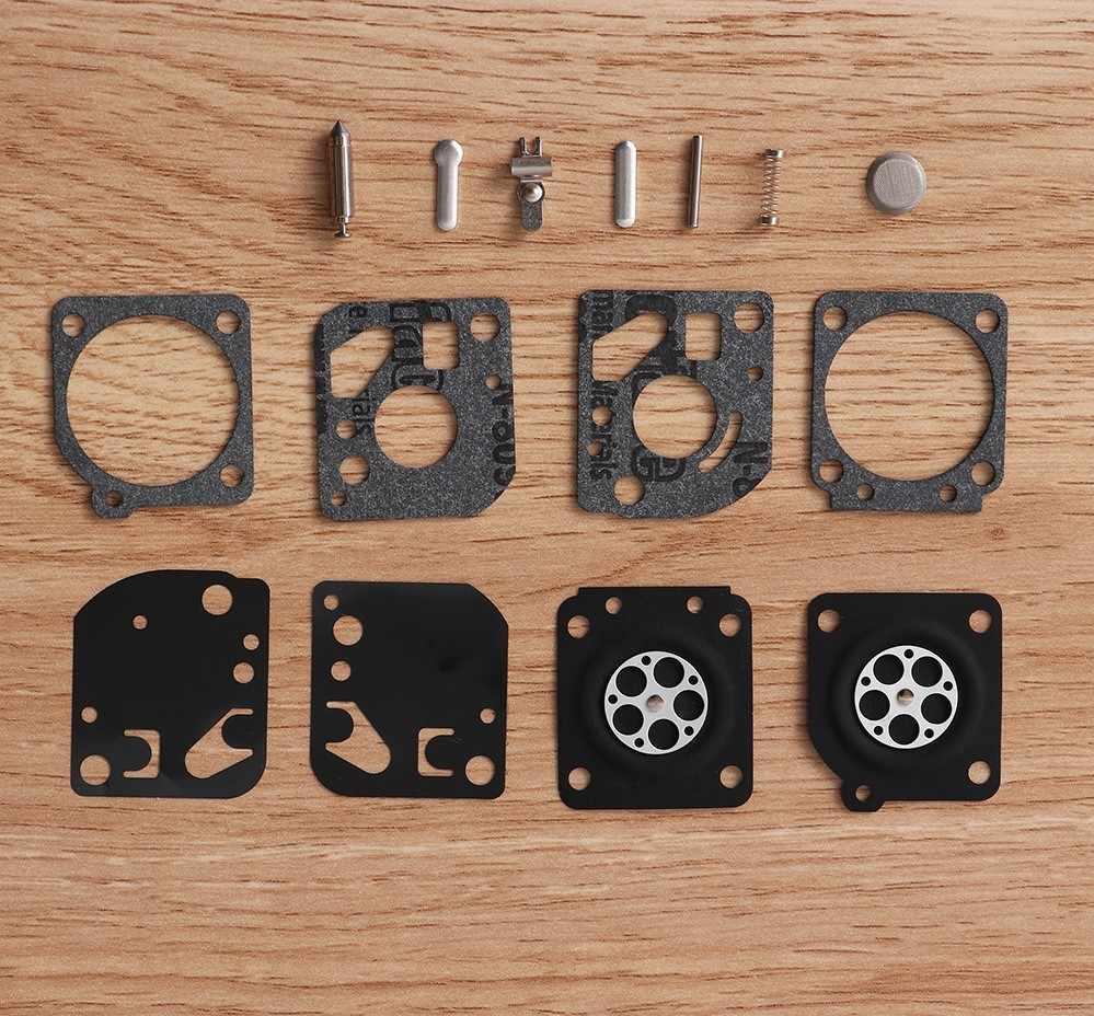 Nouveau 1 Set de Réparation de Carburateur Kit de Reconstruction Pour Zama RB-29 Carbu Diaphragme Ventilateur Tondeuse Pour Ryobi Homelite Pièces D'outils De Jardin