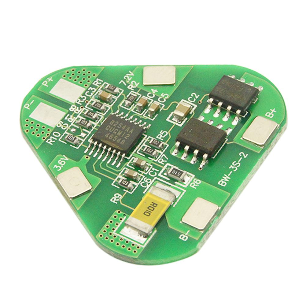 4a 3s Li-ion Lithium Battery Protection Circuit Board Three Cell PCB