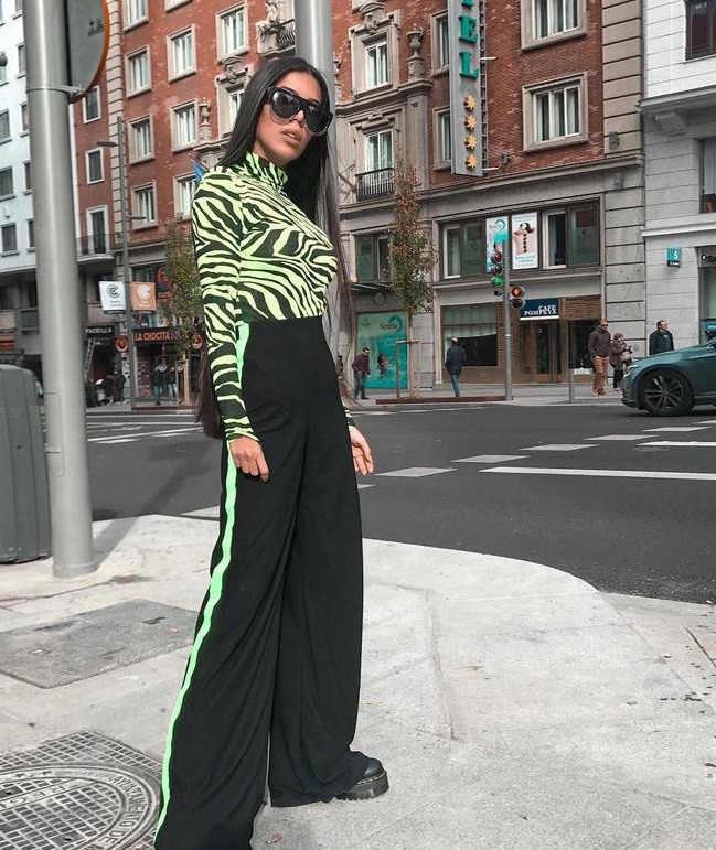 Женская женственная сетчатая прозрачная облегающий Костюм Стретч комбинезон-трико Женская водолазка с длинными рукавами одежда с принтом