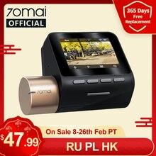 70mai-Rejestrator samochodowy DVR Dash Cam Lite, z wyświetlaczem 1080P, z koordynacją prędkości, z GPS, nagrywarka, monitor parkingowy 24h