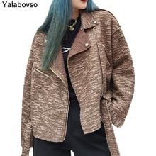 Женское шерстяное пальто на осень и зиму 2020 повседневное маленькое