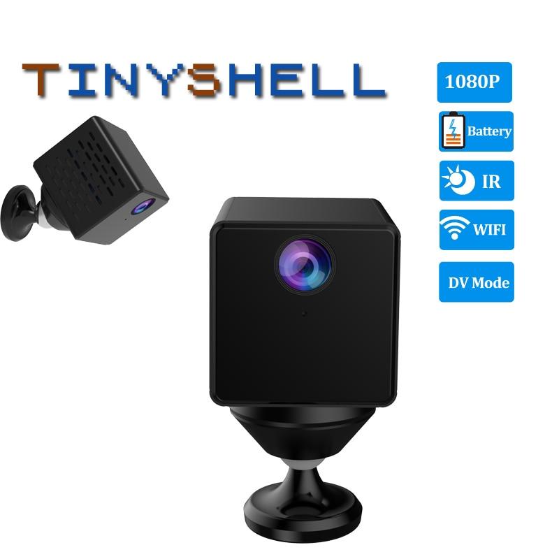 1080P Mini Camera C90S Rechargeable Battery IP Camera Security Sureveillance Camera Wifi Camera & DV Recorder 2 in 1