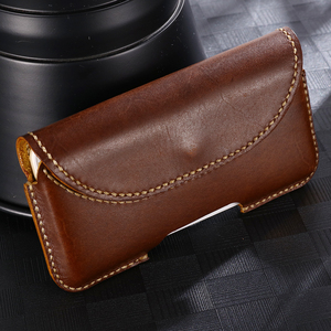 Image 5 - SZLHRSD For Xiaomi Mi Max 3 max 2 mix 2S Redmi 6A Case Genuine Leather Holster Belt Clip Pouch Funda Cover Waist Bag Phone cover