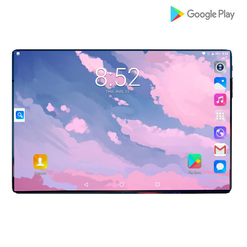 Newest Android 9.0 OS 10 Inch Tablet 4G FDD LTE Octa Core Dual Camera 6GB RAM 64GB ROM 1280X800 IPS Kids Gift Tablets 10 10.1