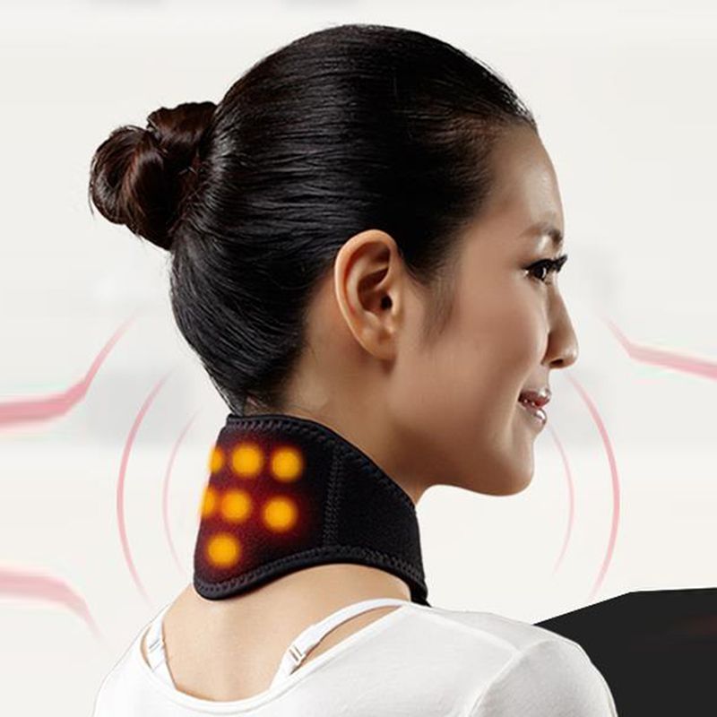 Spontaneous Heat Neck With Magnetic Therapy And Health Protection Heat, Cervical Pain, Neck Stiffness Of Neck Collar