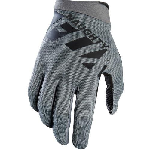 Naughty Fox Raner Dark Grey Gloves Motocross Off-Road Moutain Bike Cycling MX Gloves