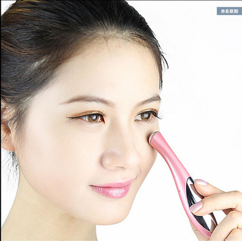 Mini Eye Massager Facial Electric Eye Massager Vibration Thin Face Magic Stick Anti Bag Pouch Wrinkle Skin Beauty Eye Care Tool