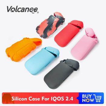 Volcanee Colorful Silicon Cover Case Antidust Protective for IQOS Silicon Cover For IQOS 2.4 Box Mod E Cigarette Vape Accessory фото