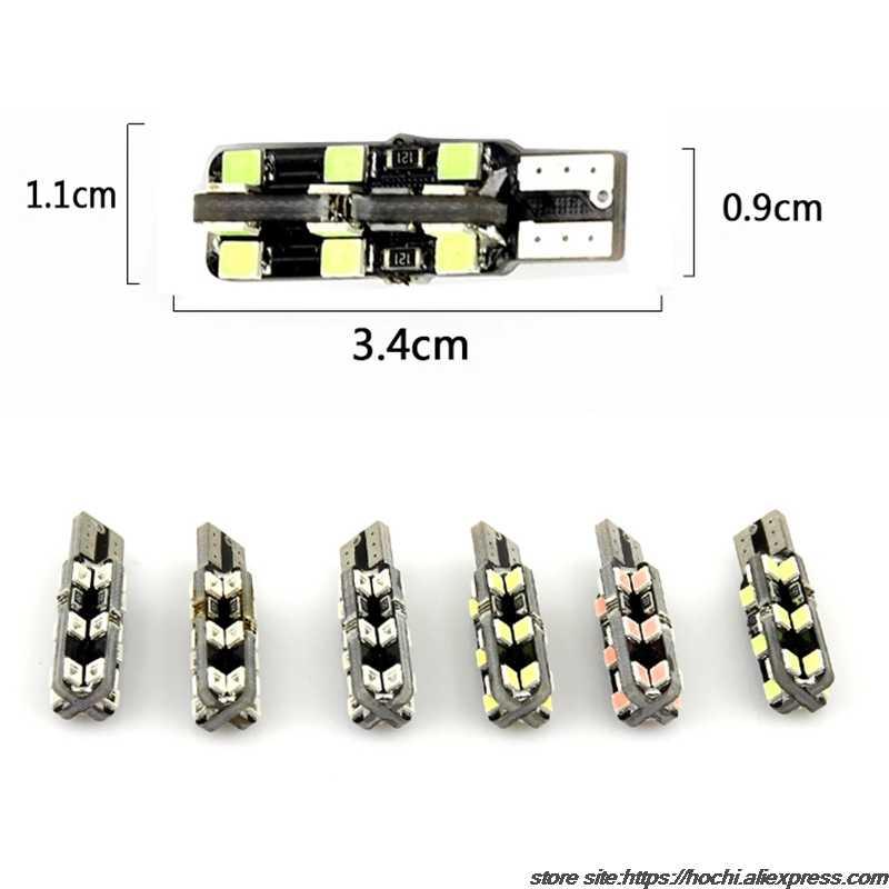 1pc T10 W5W LED światła wnętrza samochodu 24SMD układu światła obrysowe dla lexus rx300 rx330 rx350 is200 is250 gs300 lx570 lx470 gx47