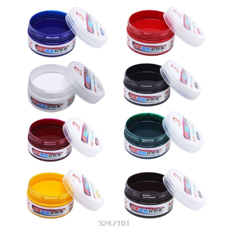 75g Furniture Leather Max Refinish Restorer Scratch Remover Shoes Recolor Paste