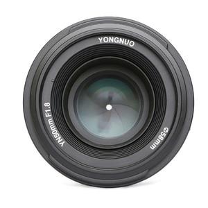 Image 5 - YONGNUO YN50mm F1.8 nikon için lens D800 D300 D700 D3200 D3300 D5100 DSLR kamera canon lensi EOS 60D 70D 5D2 5D3 600D orijinal