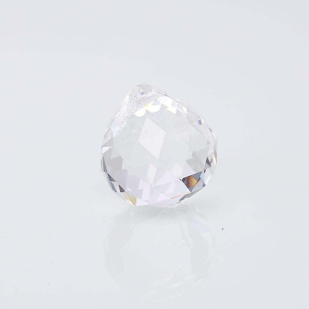 Prism Ball Pendent Crystal Sun Catchers Decoration Clear Pendant Suncatcher Clear 20mm