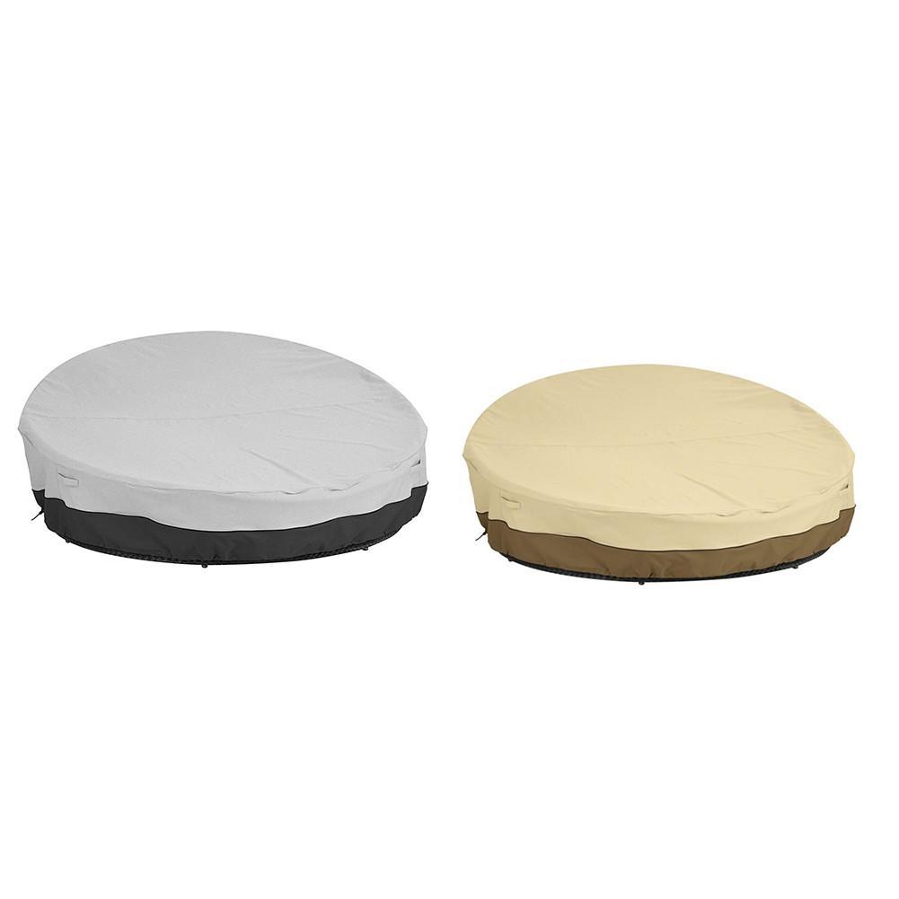 Le Sofa de Patio couvre le couvercle de poussière de meubles extérieurs résistant à l'eau Durable avec des courroies réglables