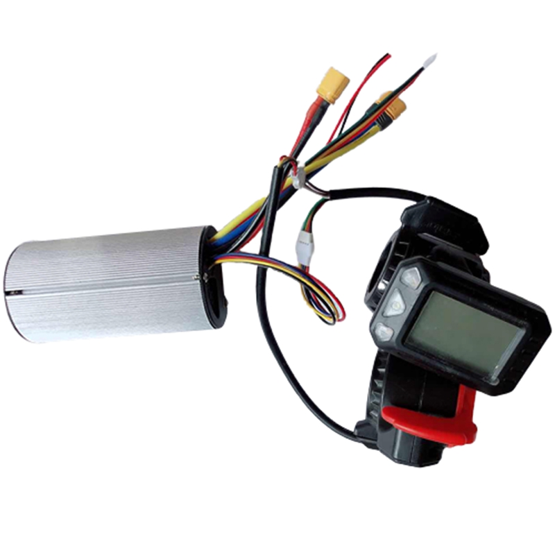 Controller Brake LCD Display 24V 250W Electric Scooter Controller Brushless Motor Electric Bicycle Accessory