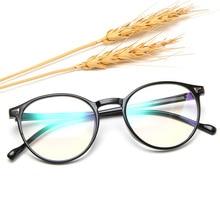 Clear Lens Glasses-Frame Round Transparent Fake Women Classic Optical Female Oculos-De-Grau
