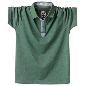 Image 3 - Purple Men Polo Shirt Top Business Office Men Camisa Masculina Cotton Badge Polo Shirt Plus Size 6XL Summer Casual Tee Shirts