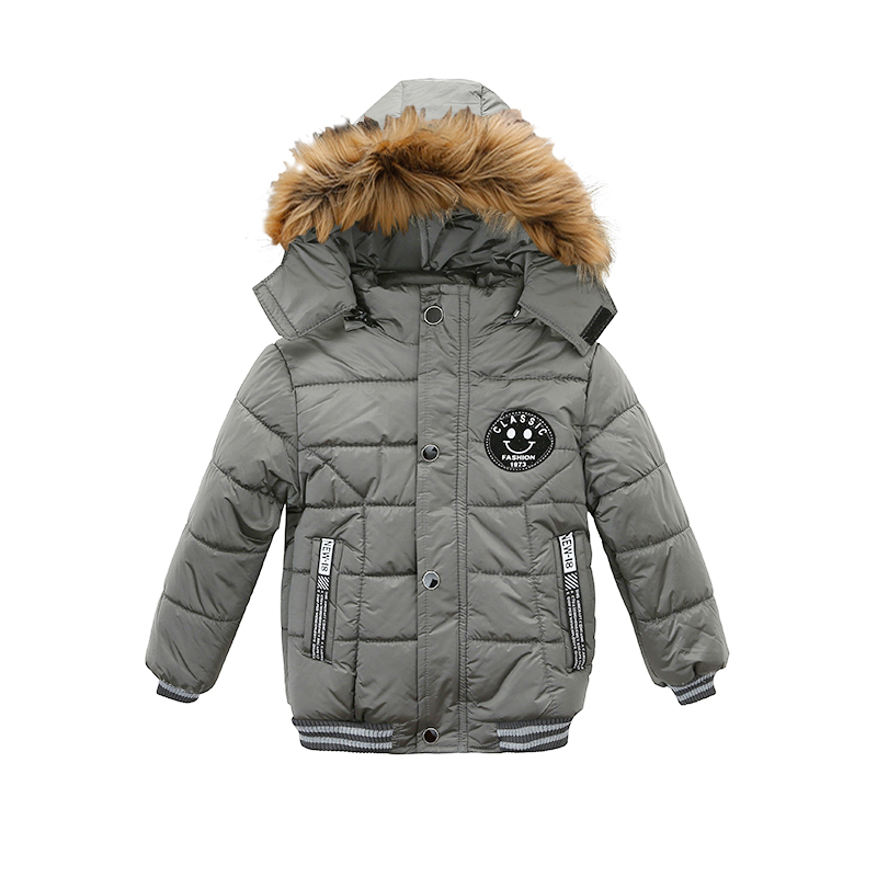 2021 NEW High Quality Winter Child Boy Down Jacket Parka Big Girl Thicking Warm Coat 2 3 4 5 6 Year Light Hooded Outerwears 6
