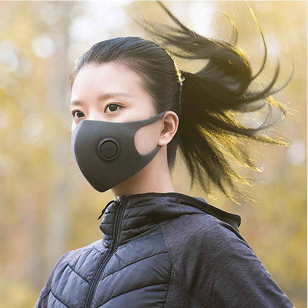 In Stock  SmartMi PM2.5 Haze Mask Anti-haze Mask Adjustable Ear Hanging 3D Design 3PCS Comfortable Light Breathing Mask