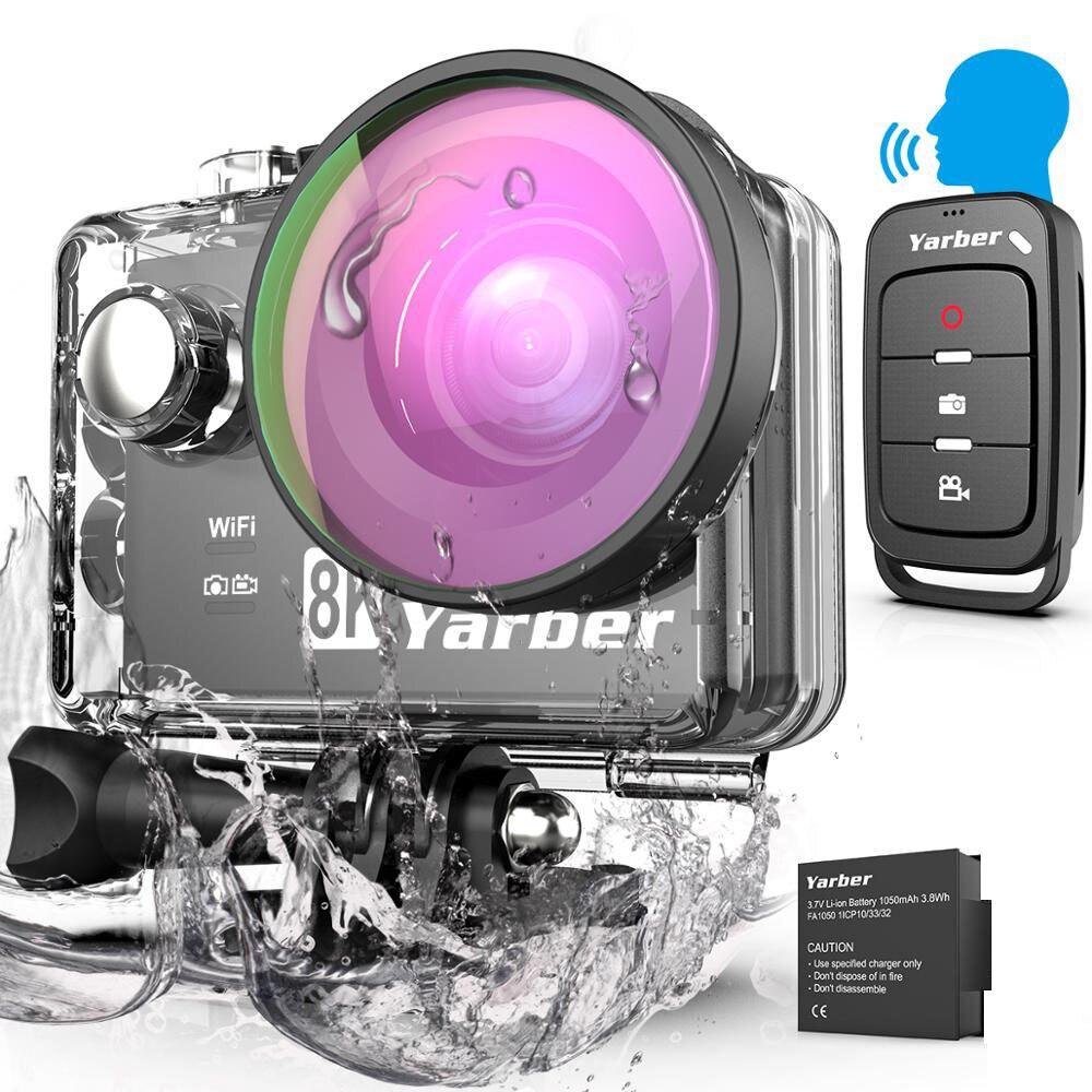 Action Camera Ultra HD 8K WiFi 2.0
