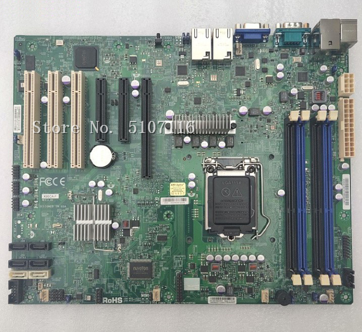 Desktop Motherboard For X9SCA-F 1155 Server Board Will Test Before Shipping