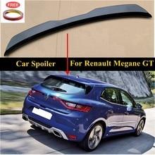 UBUYUWANT Rear Roof Lip Spoiler For Renault Megane 4 IV GT Sport Tourer 2016-2020 Hatchback Spoiler ABS Universal Car Tail Wing
