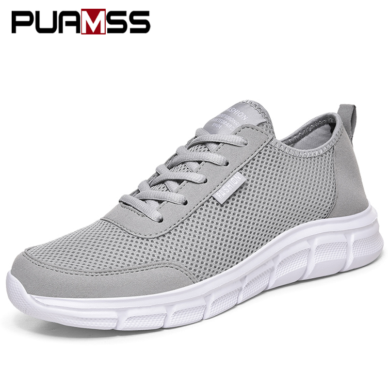 Men Casual Shoes Breathable Outdoor Mesh Light Sneakers Male Fashion Casual Shoes 2020 New Comfortable Casual Footwear Men Shoes 3