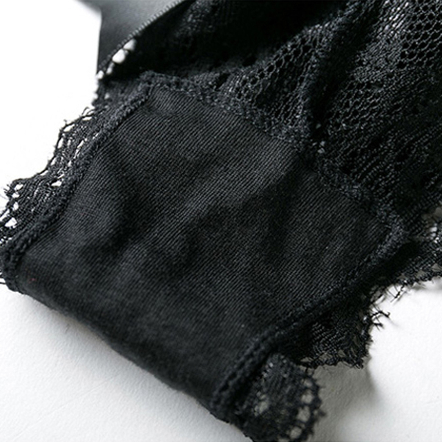 Lace Panties With A Satin Bow at the Back 6