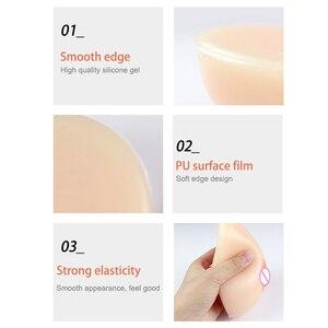 Image 5 - BT kształt najwyższej jakości silikonowych protez piersi dla Cross Dressing sztuczne cycki rekwizyty do cosplay Crossdresser