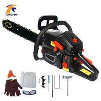 Gasoline Chain Saw Wood Pruning Cutting Power Tools Gas Gasoline Powered Chainsaw 5000W 2 stroke