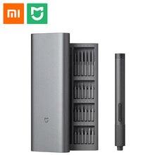 Xiaomi Mijia Electric Precision Screwdriver Kit 24 pcs S2 Steel Precision Bit All Metal Gear box Type C Charging 2 gear torque