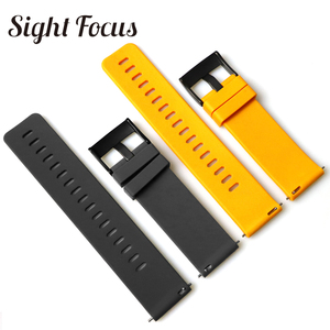 Image 2 - Sight Focus 24MM Silicone Watch Strap For Suunto9 Spartan Sport Watch Band Quick Release Suunto 9 Baro Traverse Rubber Watchband