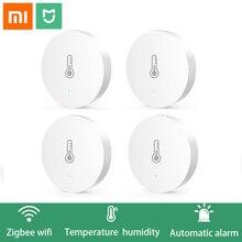 Original Xiaomi Smart Home Gateway Multi funktionale Verbesserte Smart Temperatur und Feuchtigkeit Sensor WiFi Fernbedienung durch Mi APP