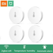 מקורי Xiaomi חכם בית Gateway רב תפקודי משודרג חכם טמפרטורה ולחות חיישן WiFi שלט רחוק על ידי Mi APP