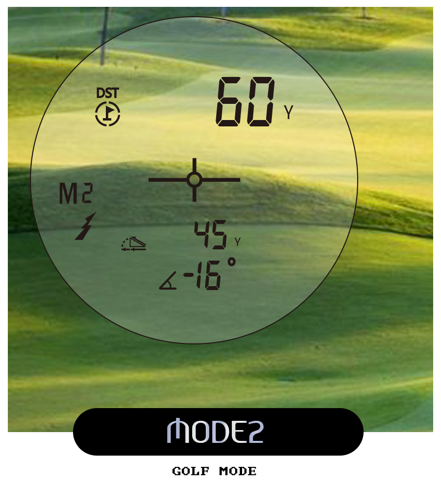 BIJIA 600M Laser Rangefinder with LCD Display and Distance/Golf Mode Used as Angle Measuring Tool 12