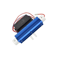 10G 220V Ozone Generator Silica Tube Water Ozonizer Aqua Air Water Ozonator Power Supply with Heat Sinks