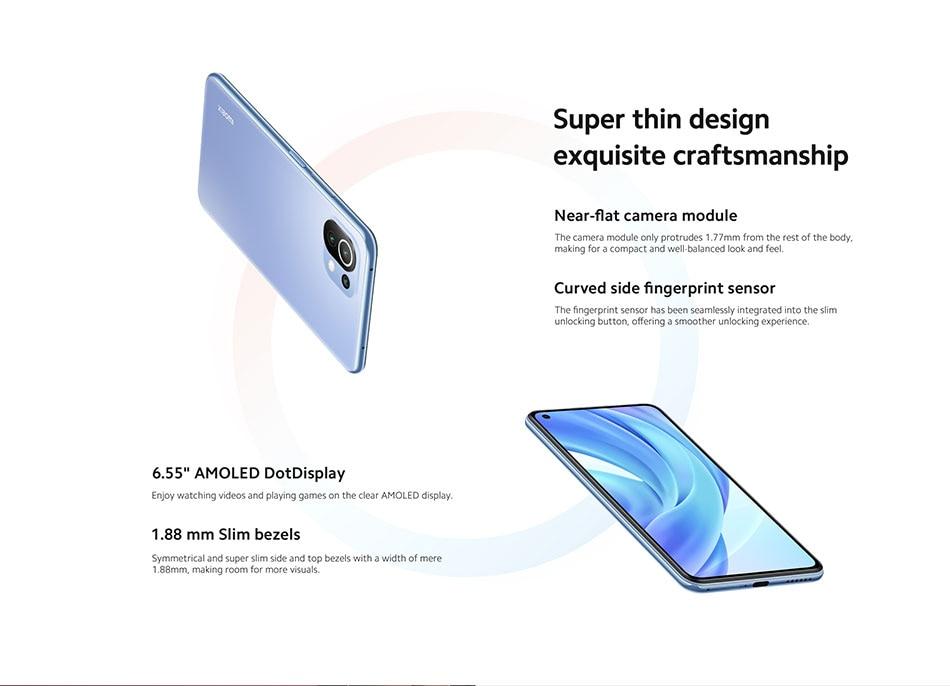 Mi 11 Lite 8+128 SmartPhone