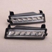 A1649060251 1 쌍 A1649060151 앞 범퍼 LED 주간 러닝 라이트 램프 DRL 적합 메르세데스 벤츠 ML GL GLK W164 X164 X204