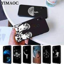 Space Cosmic Silicone Case for Redmi Note 4X 5 Pro 6 5A Prime 7 8 Pro цена