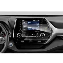 LFOTPP para Highlander 8 pulgadas 2020 de navegación del coche pantalla táctil Protector de pantalla de vidrio templado Auto Interior proteger etiqueta engomada