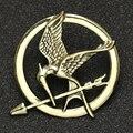 Голод игровая брошь, булавка, птица, Орел, стрелы, логотип, значок, винтажная мода, горячие животные, игра, фильм, ювелирные изделия для мужчин...