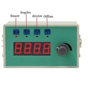 Image 1 - Hız RPM ekran step Servo Motor sürücü denetleyici kurulu hız ayarlanabilir ters sabit uzunluk sürekli yuvarlak gezi