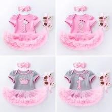 Детское розовое нарядное платье для малышей; Обувь Детская одежда
