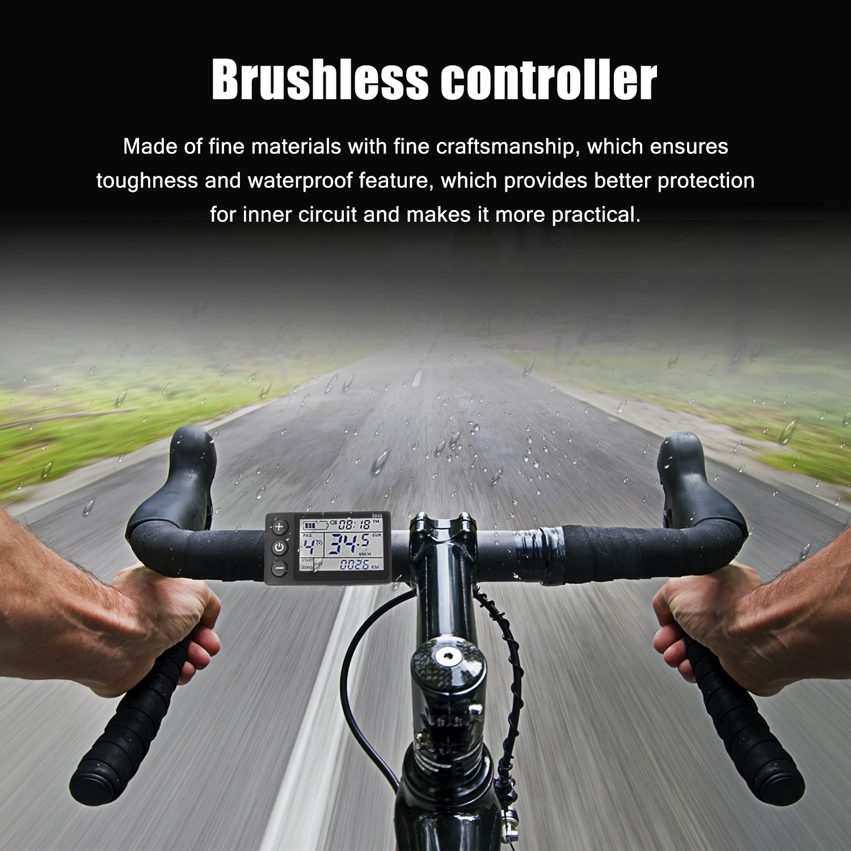 E-bike-Controller mit LCD Display Elektrische Bike Controller 24 V-48 V/36 V-60 V 350W Bürstenlosen Fahrräder Motor Roller Controller
